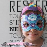 Masques en strass