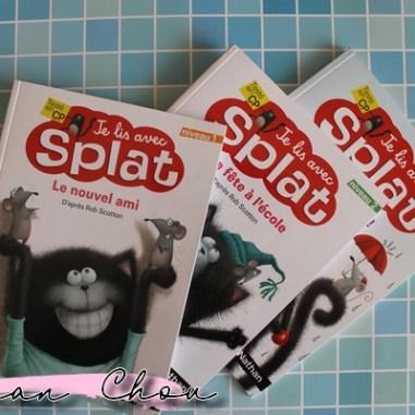 Collection Je lis avec Splat