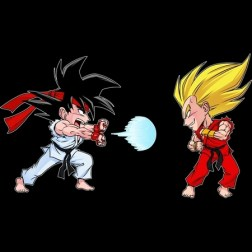 okiwoki street fighter dragon ball