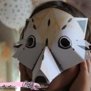 Masques animaux en 3D