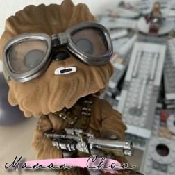 Funko Pop star wars chewbacca flocked