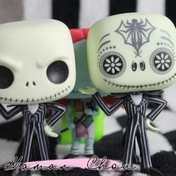FUNKO POP - L'étrange Noel de Mr Jack - Jack & Jack Dia de los Muertos