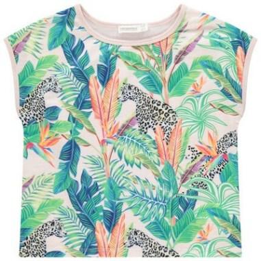 T-shirt manches courtes à sublimation végétale