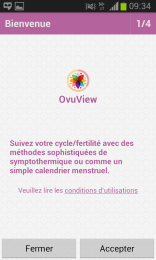 Ovuview - accueil