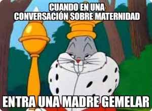 meme mama necesita un gintonic bugs bunny