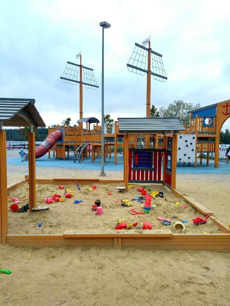 parque infantil en savonlinna