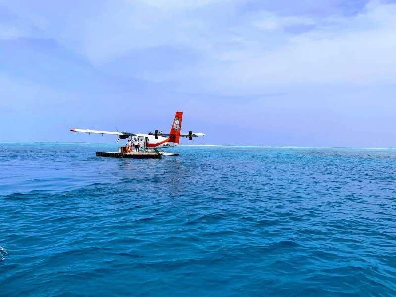 Llegar a Maldivas en hidroavion