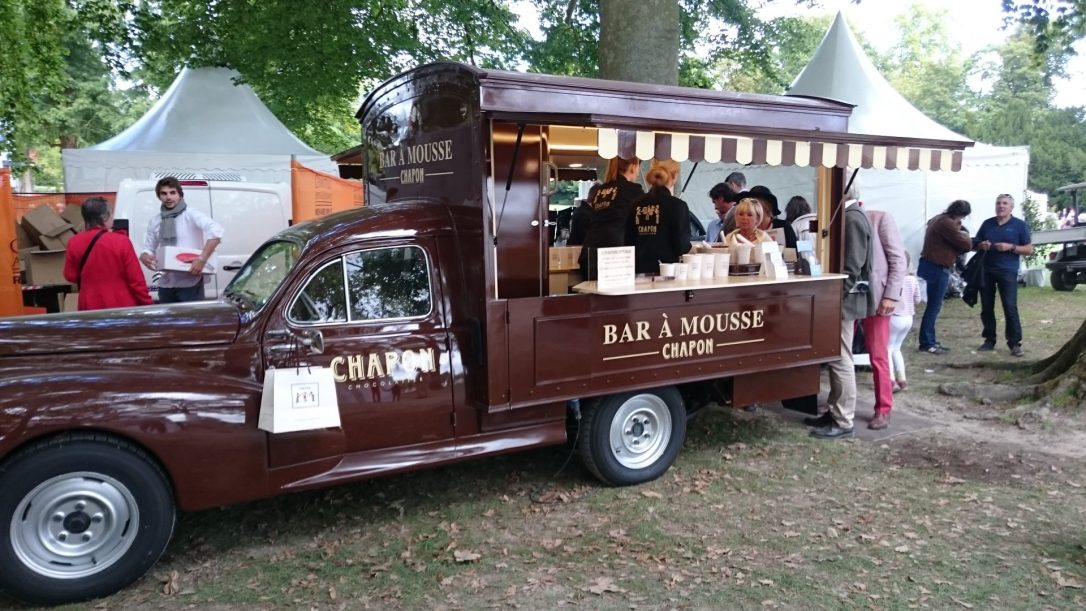 chocolate truck art et elegance