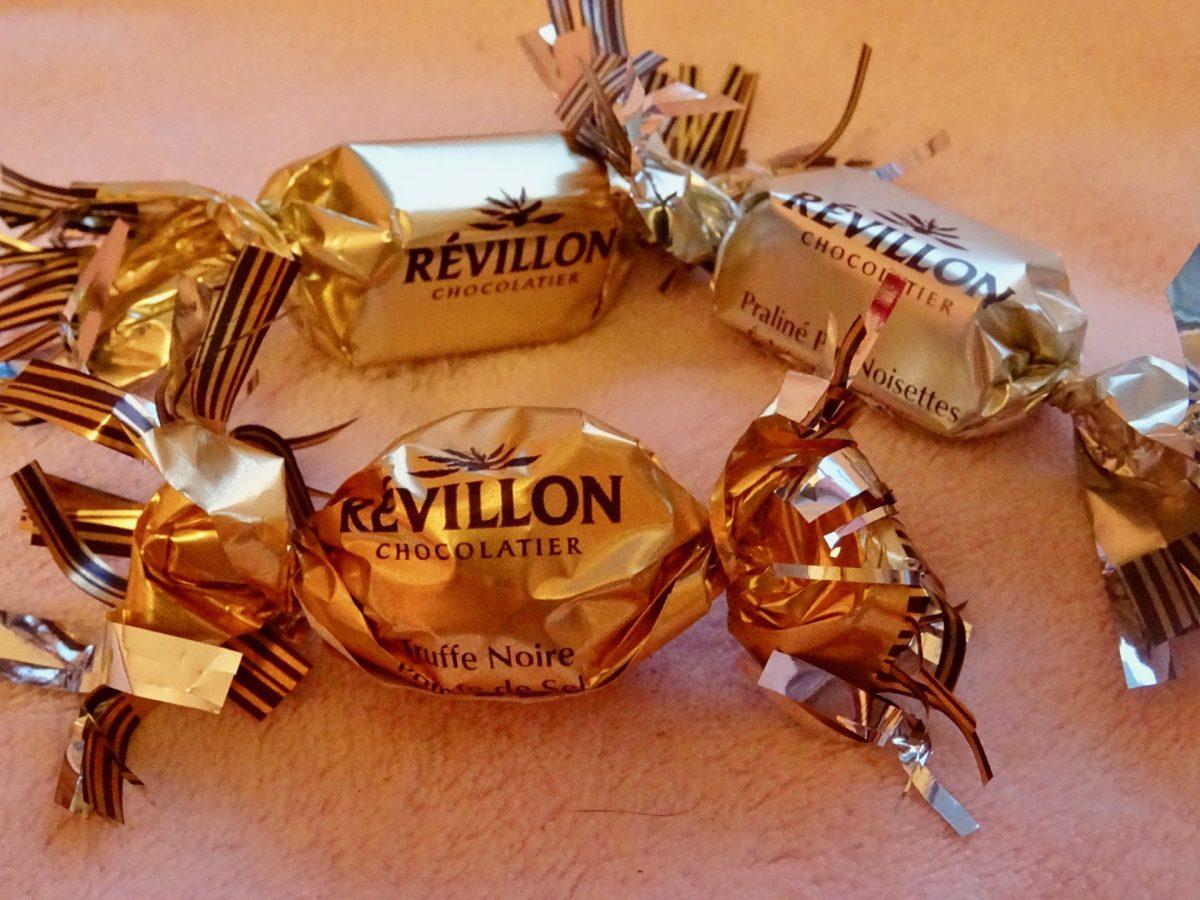 Les papillotes Revillon au chocolat nous plonge dans l'ambiance de Noël