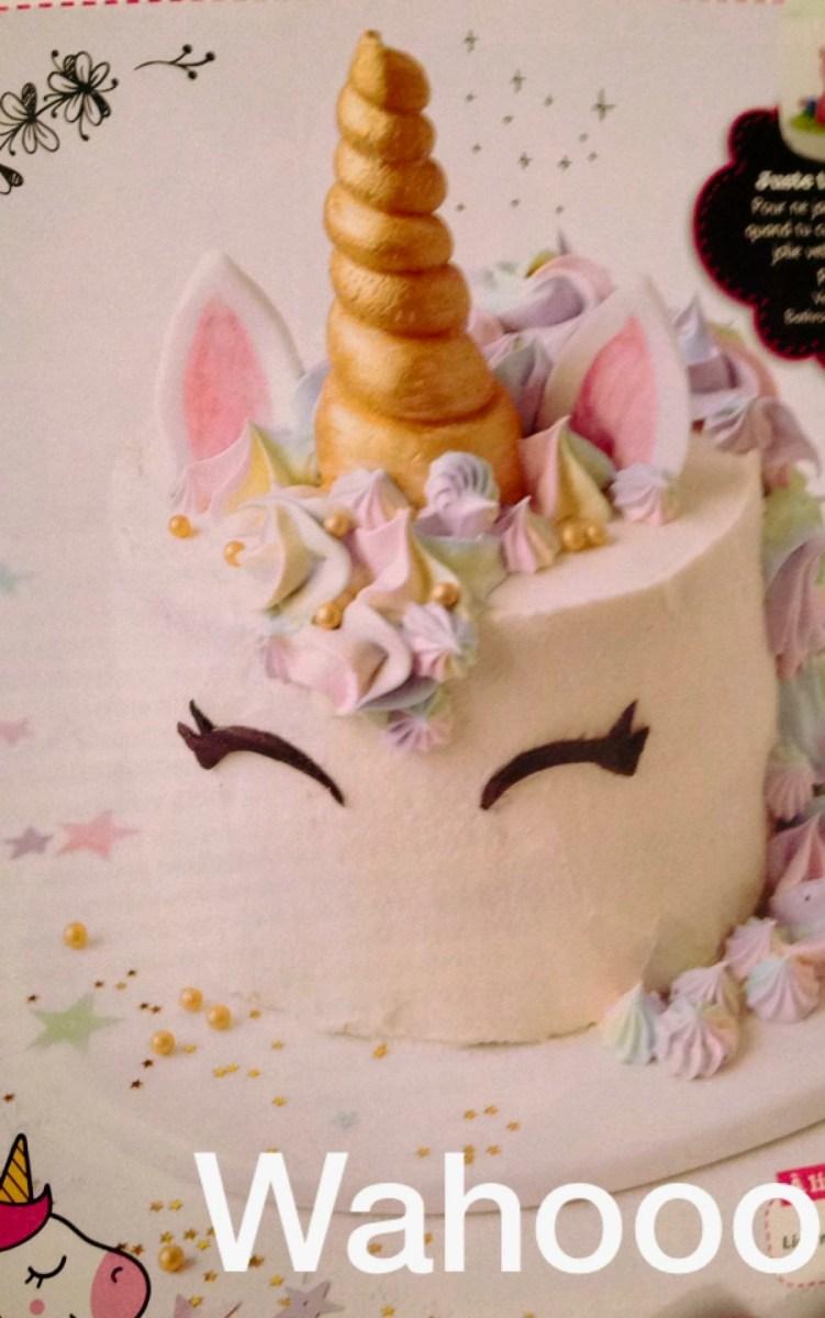 Recette Licorne Cake