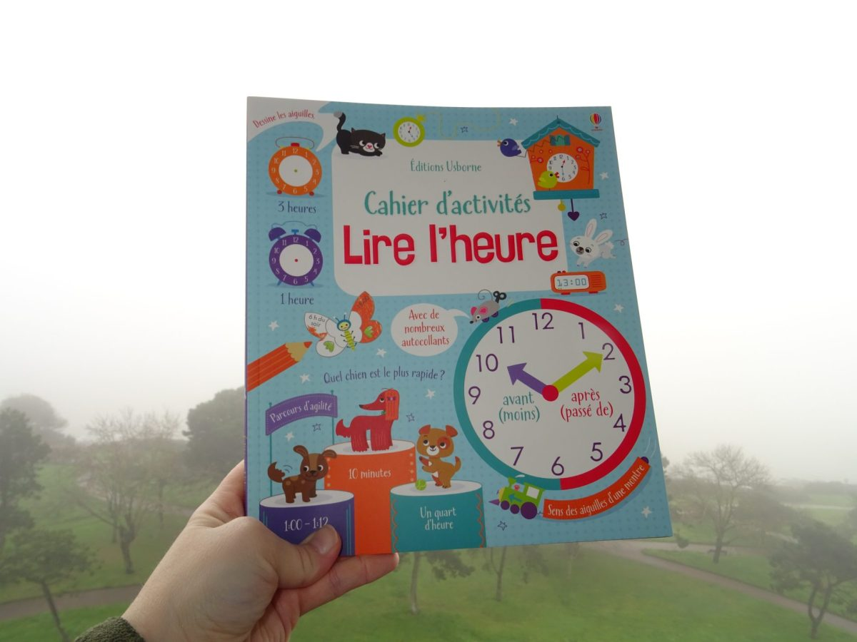 Lire l'heure - Éditions Usborne