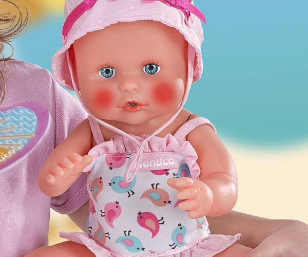 La poupée Nenuco Sunny intéractive qui sensibilise les enfants à la chaleur !