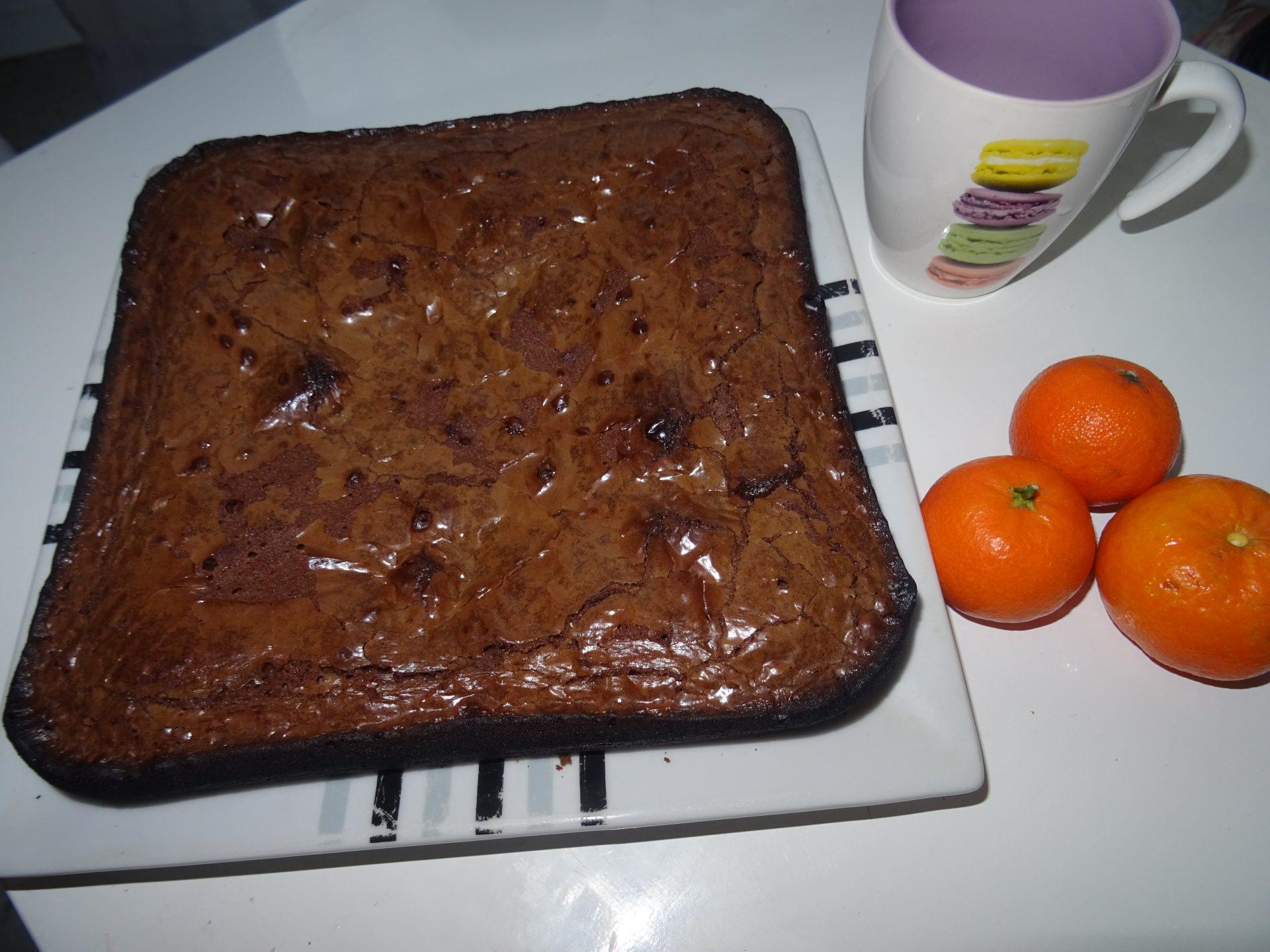 Brownies tout simple au chocolat