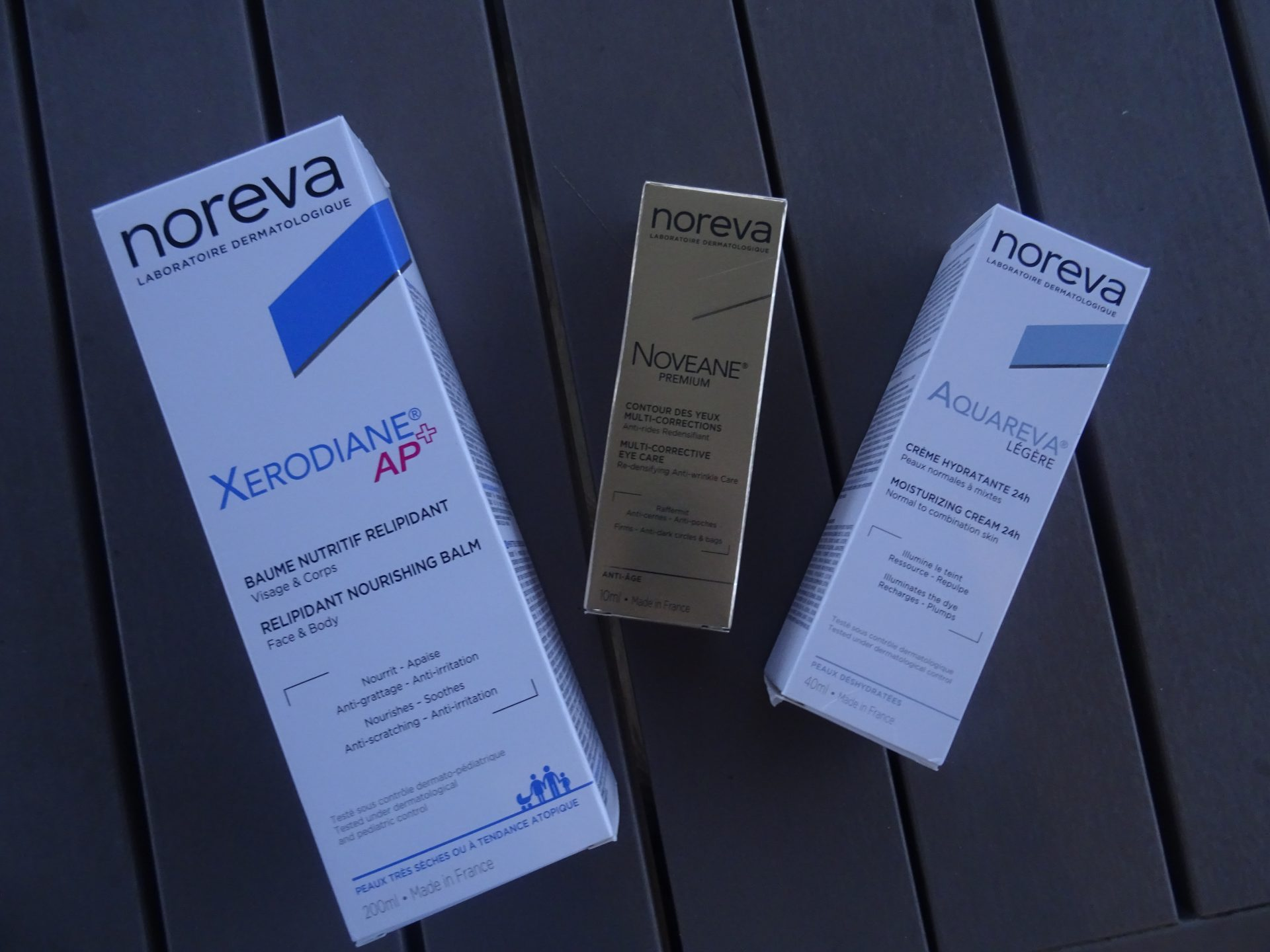 Je soigne ma peau avec les produits Noreva
