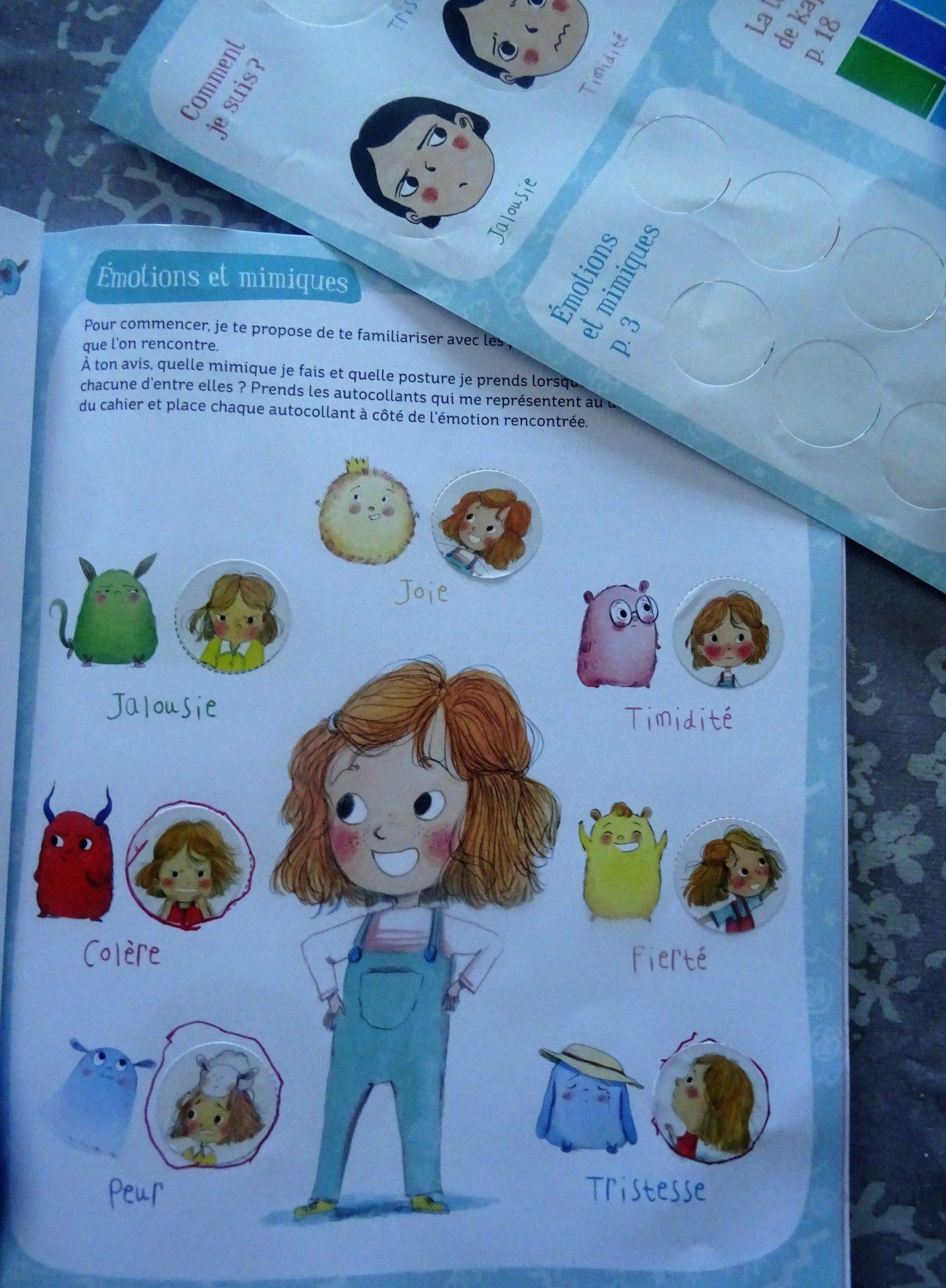 Le livre d'activités de mes émotions – Gründ Jeunesse