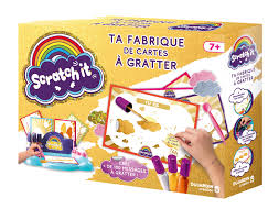 Scratch It ta fabrique de cartes à gratter Jeux Dujardin