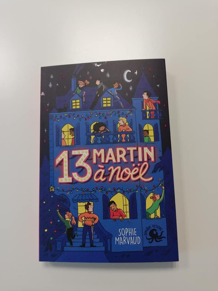 Un roman sous fond de chiffre 13 avec Poulpe Fictions