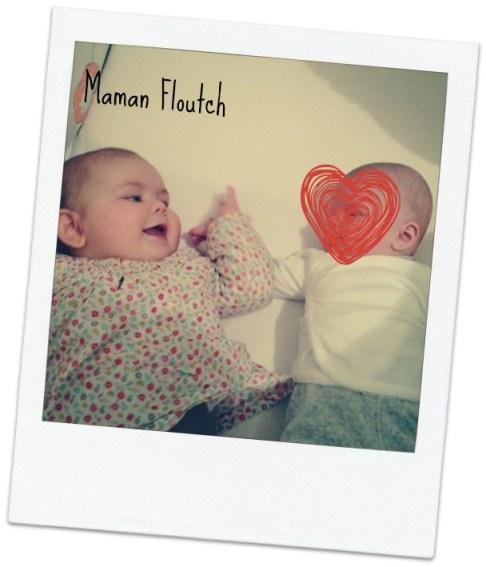 bébé amoureux