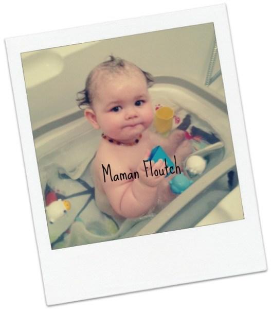 bébé bain tapis badabulle