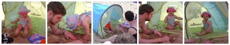 tente anti UV babymoov