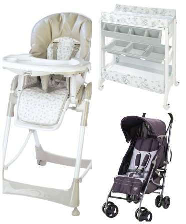 bébé 9 chaise haute poussette canne table a langer papillon