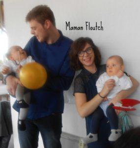 look de floutch 6 sp cial bapt me maman floutch blog pour mamans parents de jumeaux. Black Bedroom Furniture Sets. Home Design Ideas