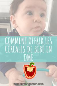 Céréales bébé DME
