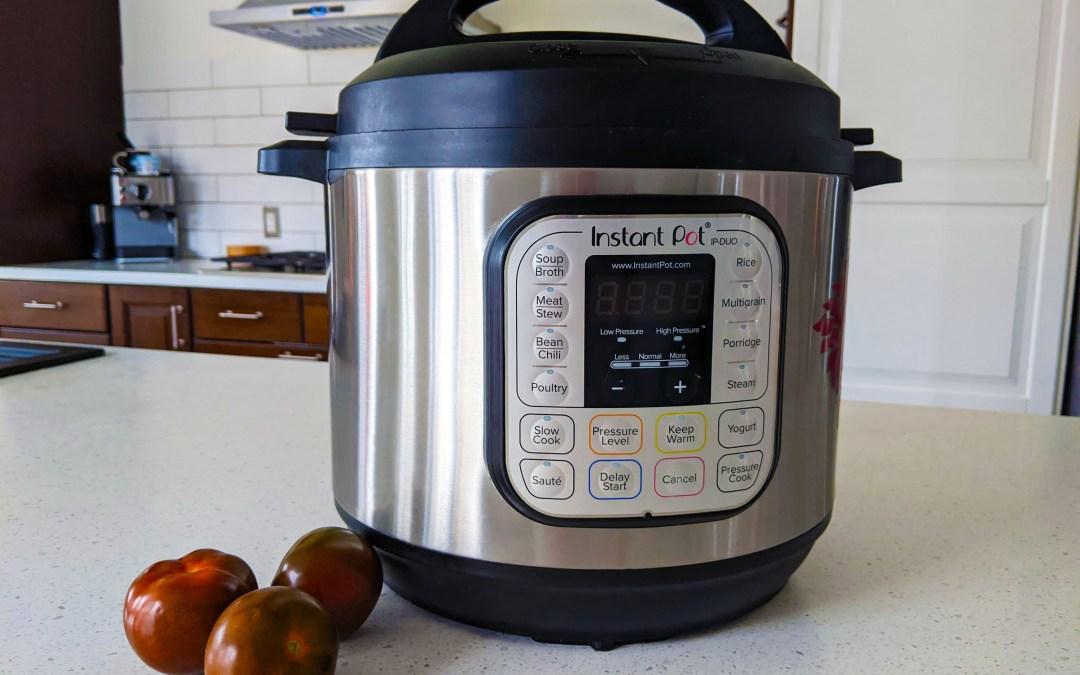 Vos recettes préférées à l'Instant Pot