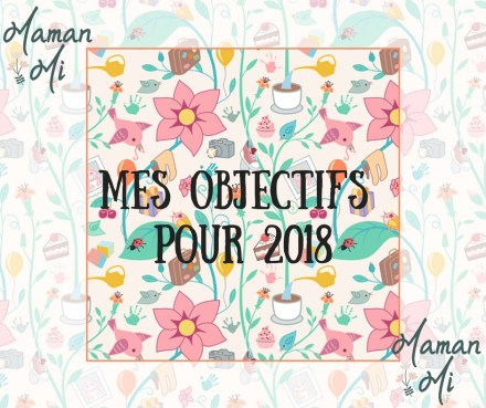 Objectifs 2018 MamanMi