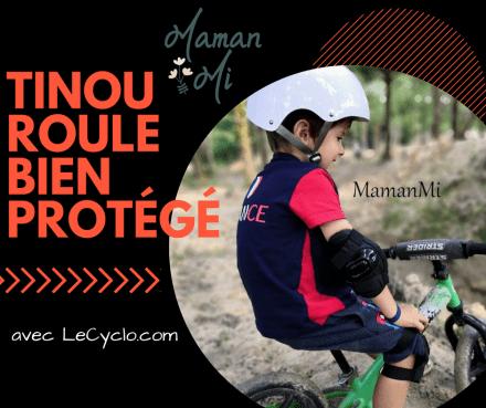 protections vélo casque le cyclo mamanmi