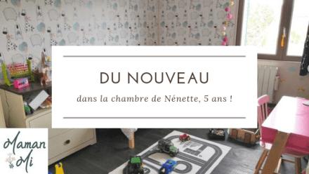 nouvel décoration chambre enfant fille-maman mi-octobre 2019