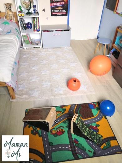 tapis chambre enfant décoration