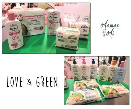 love & green couches avec voile 100% naturel couches et produits bébé  serviettes hygiéniques salon des familles 2020 maman mi