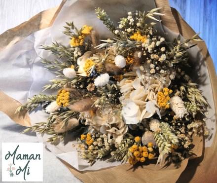 fleurs séchées bouquet flowrette