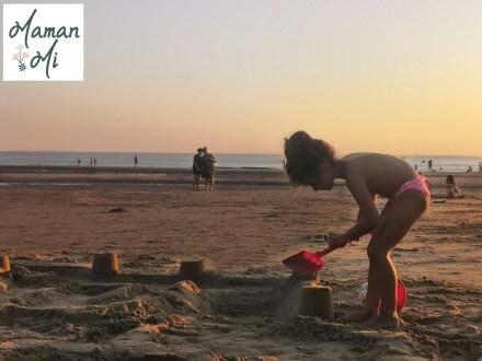 plage été summer les sables d'olonne mamanmi