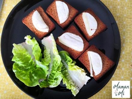 chévre pain d'épice