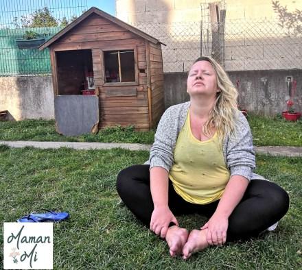 yoga posture extérieur