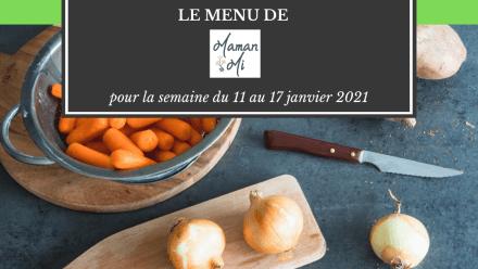 menus semaine mamanmi 2021