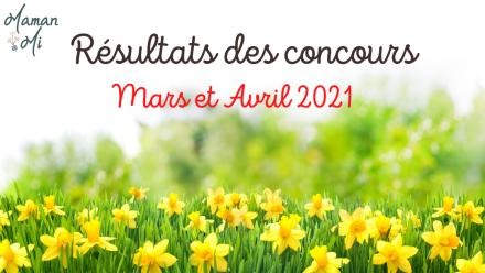 résultats concours mars avril 2021