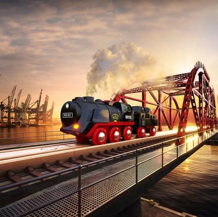 jouet locomotive vapeur brio