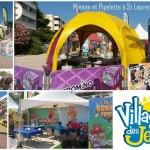 village des jeux la tournée des plages 2015
