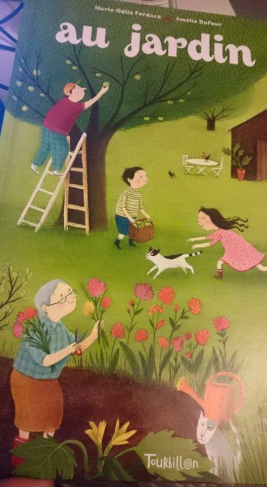 Au jardin chut les enfants lisent 7 maman pouponne for Blythe le jardin de maman