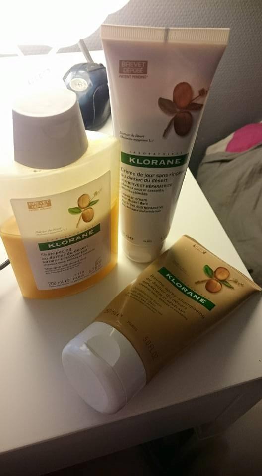 Ma routine Klorane pour cheveux secs et cassants