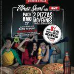 La Boîte à Pizza : «Vibrez Sport» avec RMC pour les soirées foot en famille !