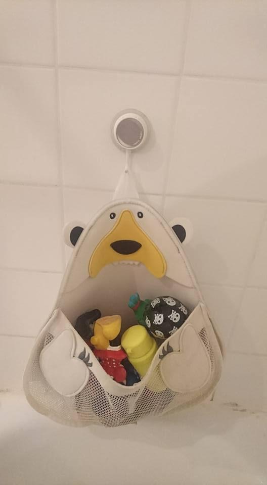 Rangement pour le bain Ours polaire (1)