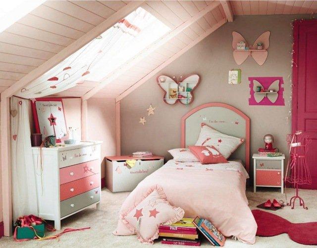Célèbre Une chambre enfants sous les combles idées d'aménagement et de déco. NK68