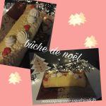 Roulé crème pâtissière/poires au iCompanion