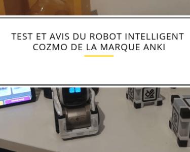 Test et avis du robot cozmo