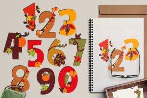 chiffres d'automne