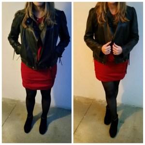 look robe rouge ikks